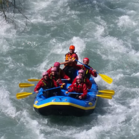 Extreme Rafting Incentive Team
